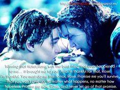 #Titanic #Quotes #Cinescrupulos