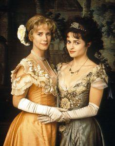 Imogen Stubbs as Viola and Helena Bonham Carter as Olivia in Twelfth Night (1996).