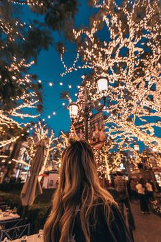 We're getting in the holiday spirit and sharing a round up of some of the most magical places to experience Christmas around the world. String Lights Outdoor, Outdoor Lighting, Outdoor Christmas, Christmas Lights, Christmas Time, Merry Christmas, Wallpaper Natal, Light Images, Jolie Photo