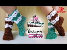 [Versão destro] meia Winter   BYA FERREIRA - YouTube