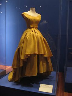Vintage Balenciaga featured at de young