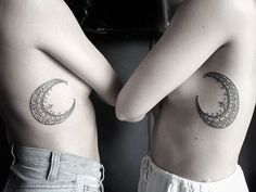 #Sisterhood #crescent #moons from awhile back  #taritaaurora…
