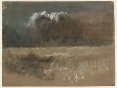 Joseph Mallord William Turner, 'A Stormy Sea' after c.1830