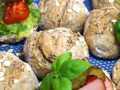 Brunch Recipes, Bread Recipes, Savoury Baking, Salmon Burgers, Crackers, Eat, Breakfast, Ethnic Recipes, Food