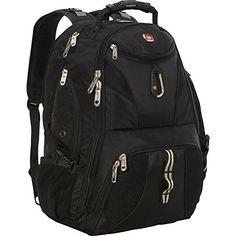 cfbdcd53e897 SwissGear Travel Gear ScanSmart Backpack 1900 (Black) Черные Рюкзаки,  Походный Рюкзак, Мода