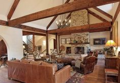 Traditional Family Room Cowboy Western Design, Pictures, Remodel, Decor and Ideas