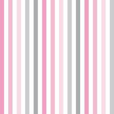 Baby- und Kinderstoff aus Bio-Baumwolle mit Streifen in weiß/rosa/grau, made in Germany