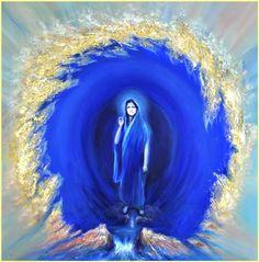 Ma- The deep blue Spiritual Eyes, Soul Songs, Bhakti Yoga, Divine Mother, All Souls, Tantra, Divine Feminine, Yoga Meditation, Religion