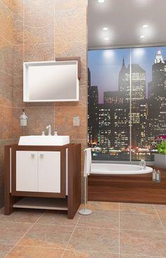 Diseño de baños para catálogo – Faravelli s.a.: Baños de estilo moderno por En Tu Interior