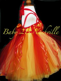 tulle flames dress 2