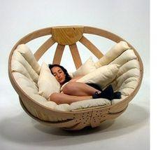 Heerlijk bijkomen in deze relax stoel!