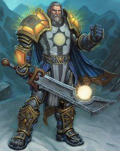 Warcraft Fan Art Gallery - Tirion Fordring