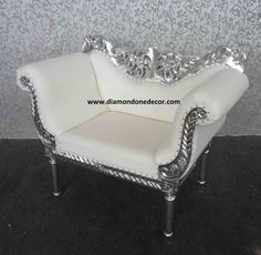 Fabulous Baroque Decorator French Reproduction Wedding Chair