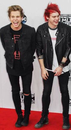Luke Hemmings and Michael Clifford