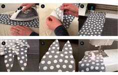 DIY Fabric Bunny Treat Bag with detailed pictures | Fun for Easter! #Silhouette