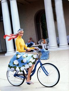 Jacquetta Wheeler by Arthur Elgort for Vogue US