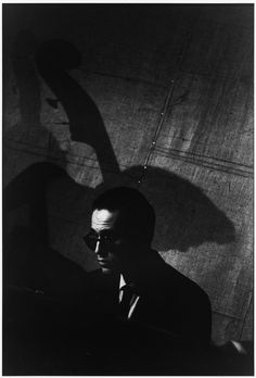 Bill Evans by William Claxton. Hollywood, 1970.