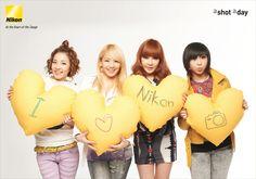 2NE1 and Nikon