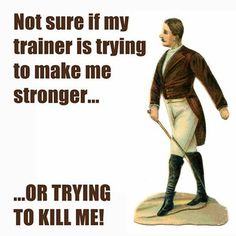 Is your #trainer making you stronger? Even though I LOVE my trainer and wouldn't know what i would do without her