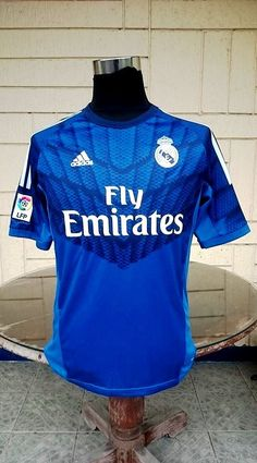 ed7fb4e446e CLASSIC FOOTBALL JERSEY CENTER. Real Madrid KitReal Madrid 2014Uefa Super CupVintage  JerseysGoalkeeperFootball JerseysFifaChampionSpanish. SPANISH LA LIGA ...