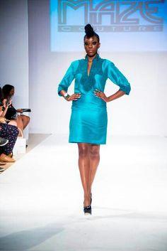 Caftan dress mini