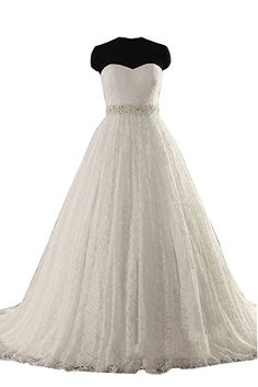 31a600a81d SIQINZHENG Women s Strapless Wedding Dresses White Ivory Bridal Gowns 2018  New