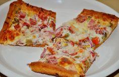 Cajunlicious | Muffuletta Pizza