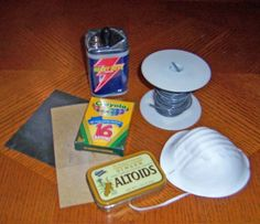 how to etch altoids tins This looks like an awesome experiment (under adult supervision)