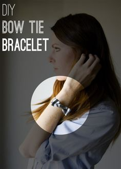 DIY Bow Tie Bracelet You Can Make During Naptime - Babble