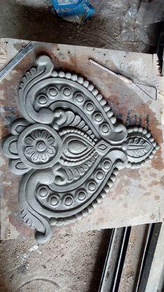 Clay art Plaster Sculpture, Plaster Art, Sculpture Painting, Sculpture Clay, Wall Painting Decor, Mural Wall Art, Clay Wall Art, Clay Art, Cement Art