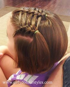 25 Little Girl Hairstyles...you can do YOURSELF!