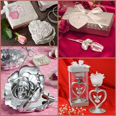 Rose Party Favors for Wedding, Bridal Shower and Valentine's Day from HotRef.com #rose