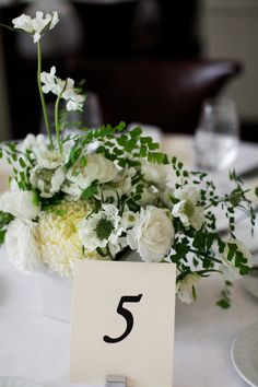 Classic Table Numbers | photography by http://aldersphotography.com/