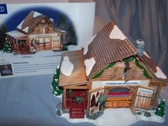 DEPT 56 SNOW VILLAGE * TIMBERLAKE OUTFITTERS * # 56.55054