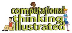 COMPUTATIONAL THINKING Illustrated: Downloadable and resizable cartoons and simple explanations showing aspects of computational thinking from the Galileo Academy of Science and Technology. Useful for talking about computational concepts such as algorithms, pattern recognition and generalisation, decomposition and modelling.