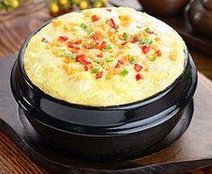 Going to make this for the hubby... When in Korea, make Korean breakfast... Korean Food | Gaeranjim | Korean Egg Casserole