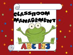 Fabulous 4th Grade Froggies: Classroom management & requested journal covers