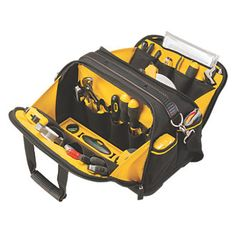 Stanley FatMax Dual Access Tool Bag | Tool Bags | Screwfix.com