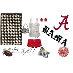Roll Tide Roll, created by alanamarie123