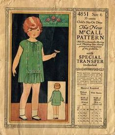 This is actually a vintage 1920's pattern! OMG this is too sweet!~ <3