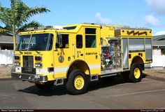 Wildland Fire Trucks | ... Wildland Maui County Fire Rescue Emergency Apparatus Fire Truck Photo