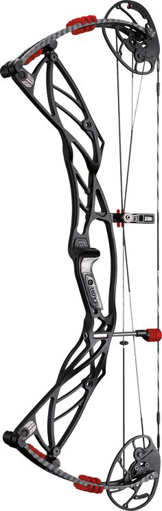Hoyt Defiant Turbo Black Out with Red Accents