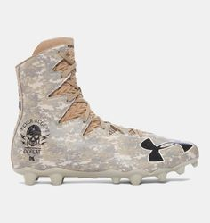 Under Armour Highlight MC Limited Edition American Football-Schuhe - US (*Partner-Link) American Football Cleats, Mens Football Cleats, Giants Football, Football Gear, Football Shoes, Sport Football, Soccer Cleats, Nike Soccer, Mens Highlights