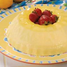 Tart Lemon Ring Mold Recipe