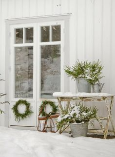 Nieve navideña