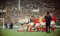 1966 World Cup Final, Bobby Moore, England Football, Wembley Stadium, Still Image, Lineup, Victorious, Finals, Dolores Park