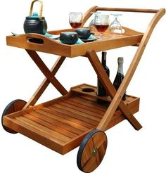 Vifah V501 Outdoor Wood Hana Serving Cart, Natural color Oiled finish Countertop Finish, Eucalyptus wood Countertop Material, 1 Number of Products in Set, Zinc-plated steel Hardware Material, Weather Resistant Weather Resistant or Weatherproof, 2 Number of Shelves, Wood Shelf Material, Rubber Wheel Material, Pre-treated, expertly kiln-dried, Extremely durable for outdoor/indoor use, Alternative to Vifah V109, EAN 8935083202855 (V501 V-501 V 501 VIFAHV-501 VIFAH V501 VIFAHV501)
