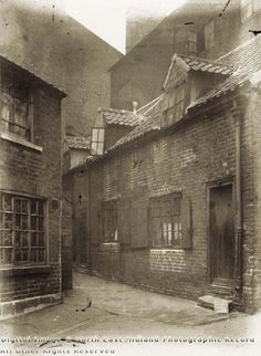 Ball Yard, Coalpit Lane, Nottingham, 1919