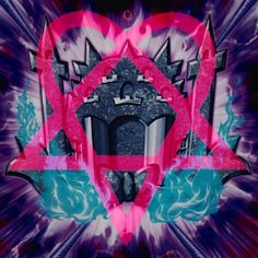 Here's An Edit That I Did Of The Card Artwork Of Rank-Up-Magic Launch of The Phantom Knights With A Heartagram. #edit #magenta #him #heartagram #symbol #yugioh #yugioharcv #anime #xyz #rankupmagic #thephantomknights #launch #spirit #shield