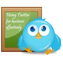 Using Twitter for business effectively  - epublicitypr.com